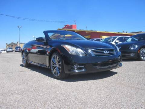 2012 Infiniti G37 Convertible for sale at T & D Motor Company in Bethany OK