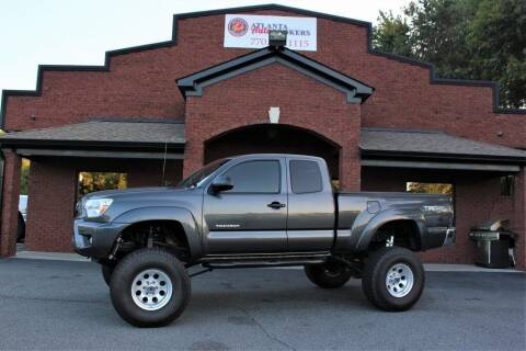 2013 Toyota Tacoma for sale at Atlanta Auto Brokers in Cartersville GA