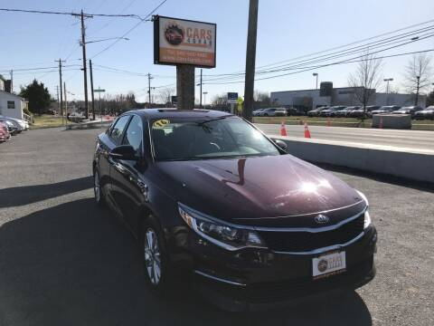 2016 Kia Optima for sale at Cars 4 Grab in Winchester VA
