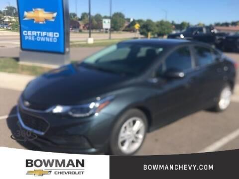 2018 Chevrolet Cruze for sale at Bowman Auto Center in Clarkston MI
