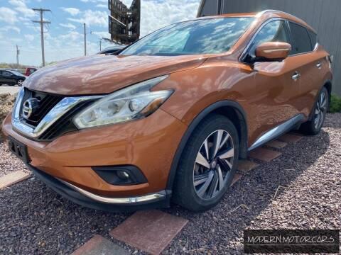 2015 Nissan Murano for sale at Modern Motorcars in Nixa MO
