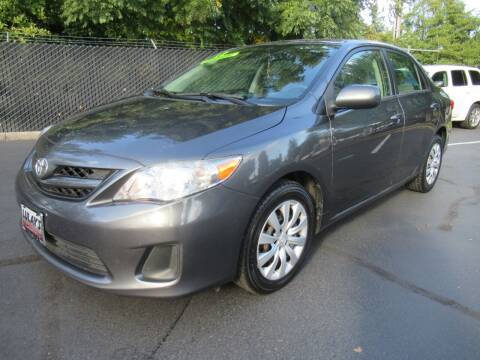 2012 Toyota Corolla for sale at LULAY'S CAR CONNECTION in Salem OR