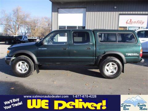 2002 Toyota Tacoma for sale at QUALITY MOTORS in Salmon ID