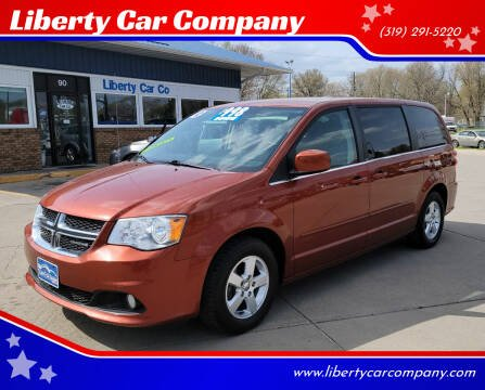 2012 Dodge Grand Caravan for sale at Liberty Car Company in Waterloo IA