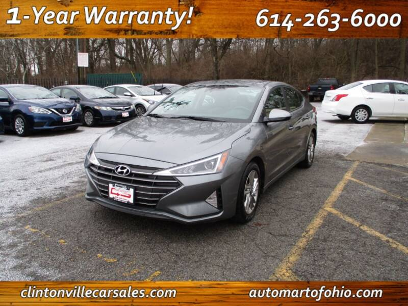 2019 Hyundai Elantra for sale at Clintonville Car Sales - AutoMart of Ohio in Columbus OH