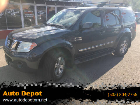2011 Nissan Pathfinder for sale at Auto Depot in Albuquerque NM