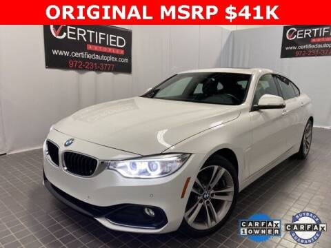 2017 BMW 4 Series for sale at CERTIFIED AUTOPLEX INC in Dallas TX