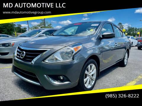 2016 Nissan Versa for sale at MD AUTOMOTIVE LLC in Slidell LA
