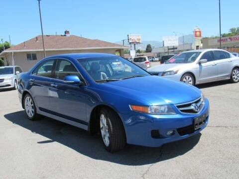 2008 Acura TSX for sale at Crown Auto in South Salt Lake City UT