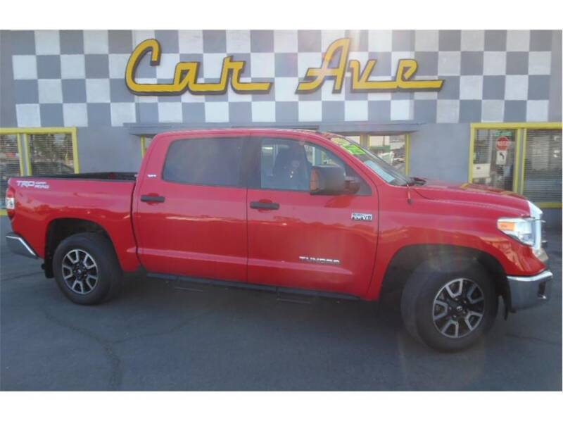 2015 Toyota Tundra for sale at Car Ave in Fresno CA