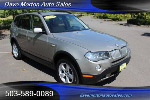 2008 BMW X3 for sale at Dave Morton Auto Sales in Salem OR