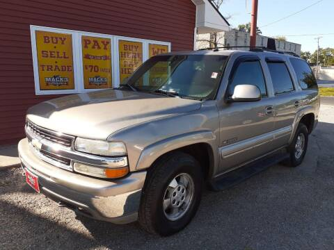 2003 Chevrolet Tahoe for sale at Mack's Autoworld in Toledo OH