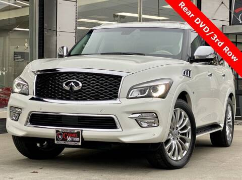 2015 Infiniti QX80 for sale at Carmel Motors in Indianapolis IN