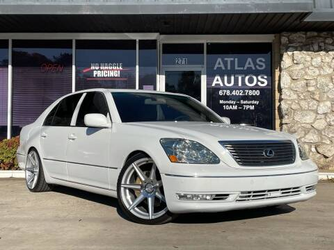 2005 Lexus LS 430 for sale at ATLAS AUTOS in Marietta GA