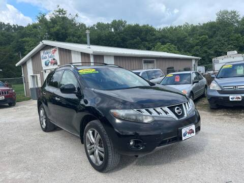 2009 Nissan Murano for sale at Victor's Auto Sales Inc. in Indianola IA