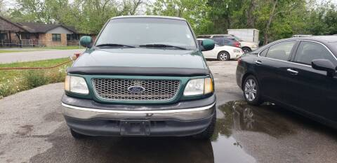 2000 Ford F-150 for sale at Anthony's Auto Sales of Texas, LLC in La Porte TX