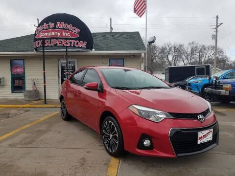 2016 Toyota Corolla for sale at DICK'S MOTOR CO INC in Grand Island NE