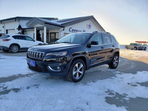 2019 Jeep Cherokee for sale at Cresco Motor Company in Cresco IA