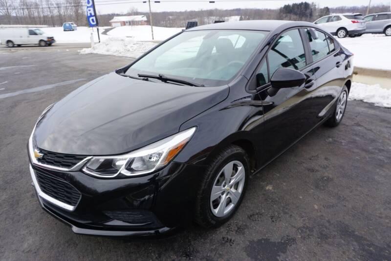 2016 Chevrolet Cruze for sale at MyEzAutoBroker.com in Mount Vernon OH