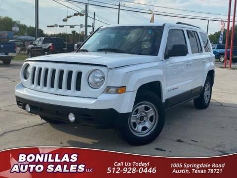 2017 Jeep Patriot for sale at Bonillas Auto Sales in Austin TX