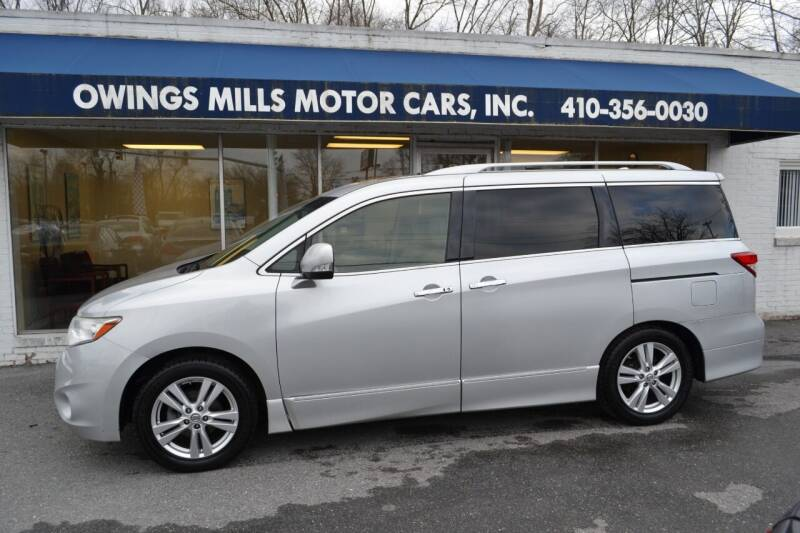 2014 Nissan Quest for sale at Owings Mills Motor Cars in Owings Mills MD