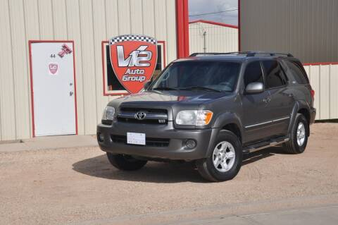 2006 Toyota Sequoia for sale at V12 Auto Group in Lubbock TX