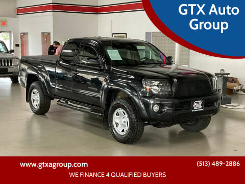 2010 Toyota Tacoma for sale at GTX Auto Group in West Chester OH