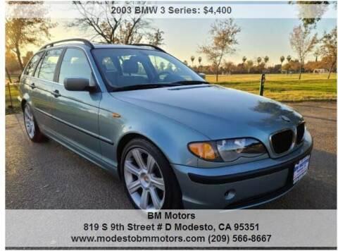 2003 BMW 3 Series for sale at BM Motors in Modesto CA