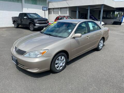 2002 Toyota Camry for sale at Vista Auto Sales in Lakewood WA