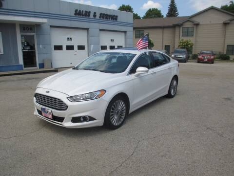 2015 Ford Fusion for sale at Cars R Us Sales & Service llc in Fond Du Lac WI