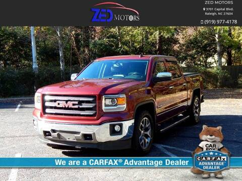 2014 GMC Sierra 1500 for sale at Zed Motors in Raleigh NC