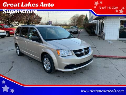 2013 Dodge Grand Caravan for sale at Great Lakes Auto Superstore in Pontiac MI