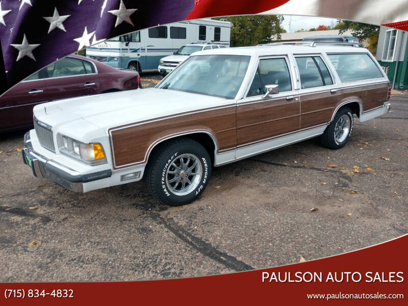 1988 Mercury Grand Marquis for sale at Paulson Auto Sales in Chippewa Falls WI