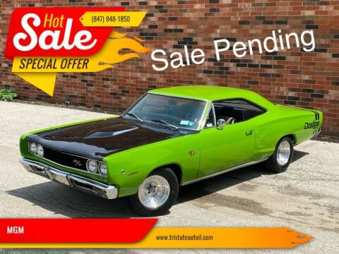 1968 Dodge Coronet for sale at MGM CLASSIC CARS in Addison, IL