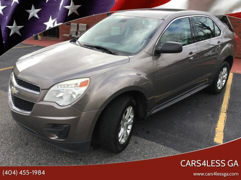2010 Chevrolet Equinox for sale at Cars4Less GA in Alpharetta GA