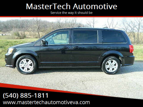 2018 Dodge Grand Caravan for sale at MasterTech Automotive in Staunton VA
