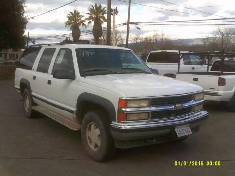 1997 Chevrolet Suburban for sale at Mendocino Auto Auction in Ukiah CA