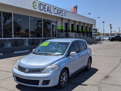 2012 Nissan Versa for sale at Ideal Cars Broadway in Mesa AZ