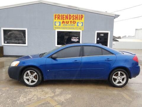 2007 Pontiac G6 for sale at Friendship Auto Sales in Broken Arrow OK