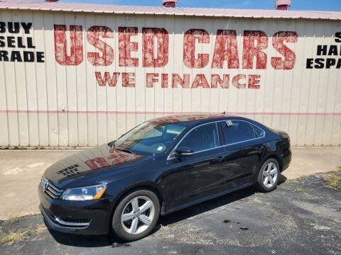 2013 Volkswagen Passat for sale at Yates Brothers Motor Company in Fort Worth TX