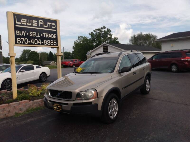 2005 Volvo XC90 for sale at LEWIS AUTO in Mountain Home AR