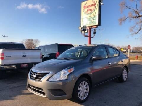 2018 Nissan Versa for sale at Diamond Jim's West Allis in West Allis WI
