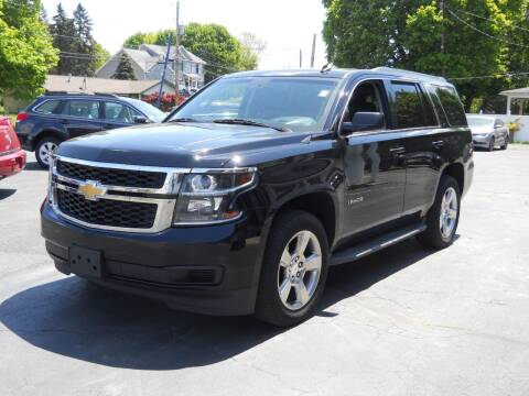 2015 Chevrolet Tahoe for sale at Petillo Motors in Old Forge PA