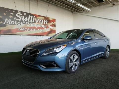 2016 Hyundai Sonata Hybrid for sale at SULLIVAN MOTOR COMPANY INC. in Mesa AZ