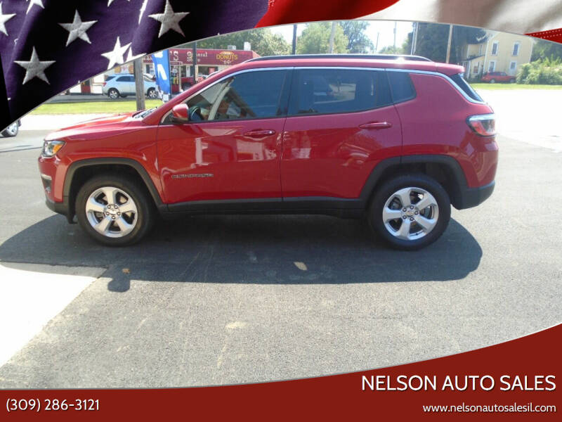2018 Jeep Compass for sale at Nelson Auto Sales in Toulon IL