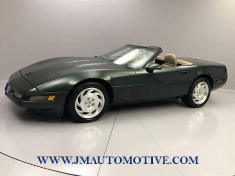 1993 Chevrolet Corvette for sale at J & M Automotive in Naugatuck CT