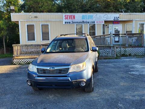 2009 Subaru Forester for sale at Seven and Below Auto Sales, LLC in Rockville MD