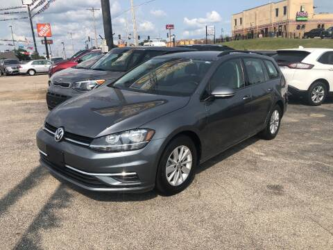 2019 Volkswagen Golf SportWagen for sale at Greg's Auto Sales in Poplar Bluff MO