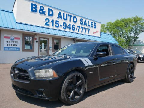 2012 Dodge Charger for sale at B & D Auto Sales Inc. in Fairless Hills PA