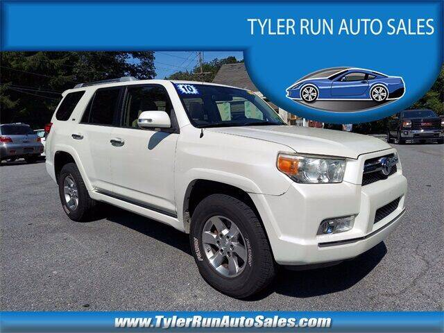 2010 Toyota 4Runner for sale at Tyler Run Auto Sales in York PA